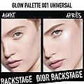La nouvelle palette glow face palette dior backstage : j'en suis folle !!