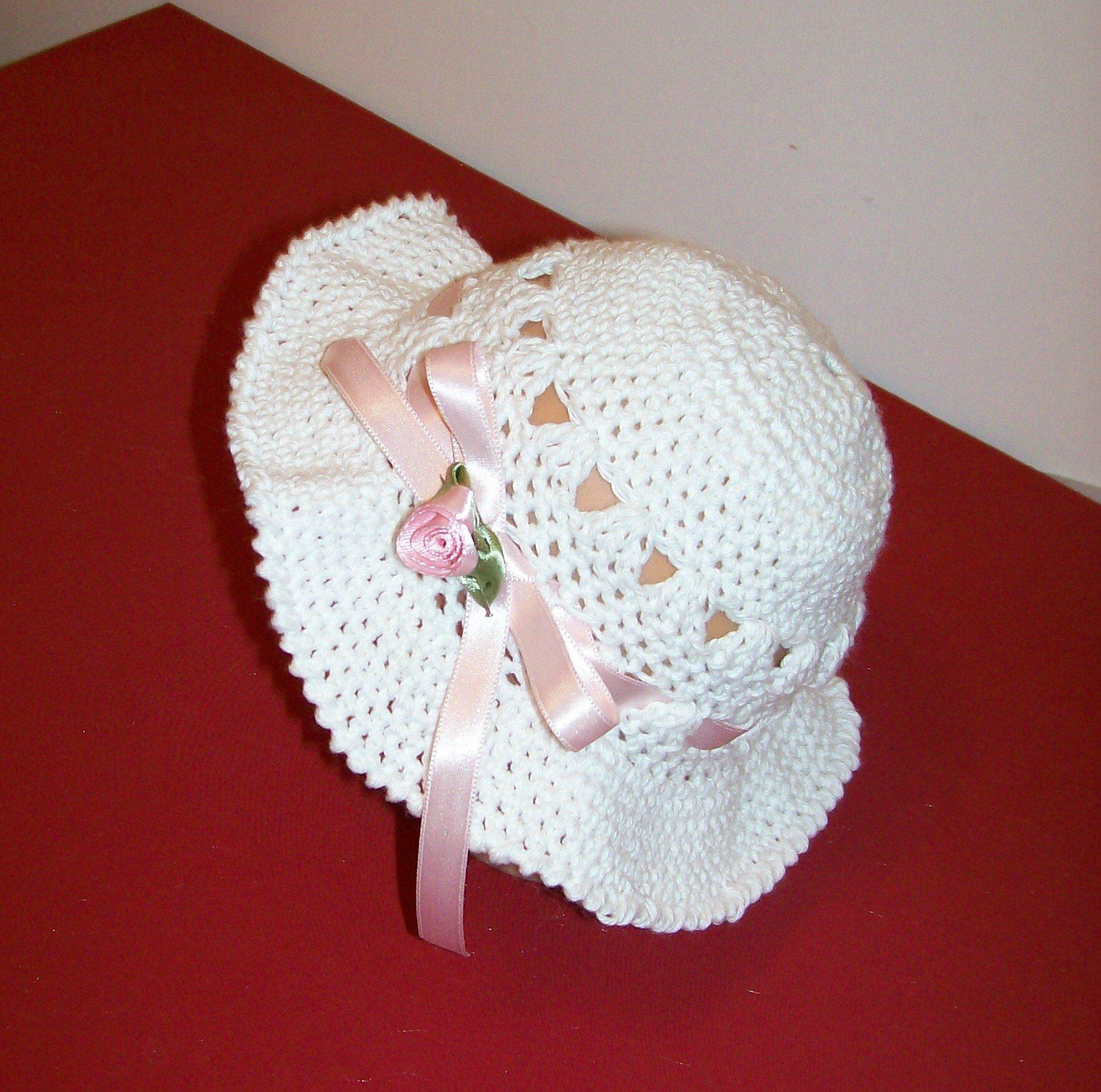 fbd1b670914 voici les nouveaux chapeaux !!!! fait main au crochet en coton ...
