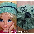 beret turquoise