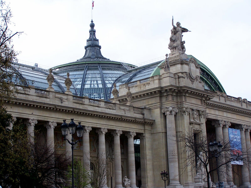 LE GRAND PALAIS-PARIS