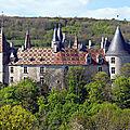 Chateau de la rochepot - cote-d'or - france