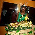 Le lapin de pâques rend visite à lydia ludic