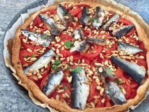 tarte tomates sardines