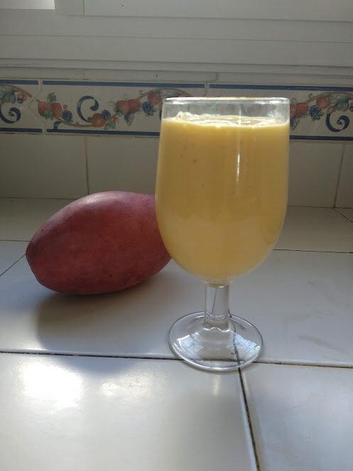 Milk-shake de mangue ou Mango lassi indien