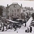 Sucy en Brie - boulevard de Verdun jour de marché (datée 1958)