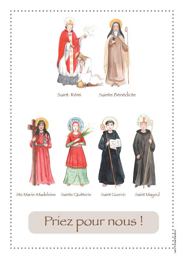 affiche saints