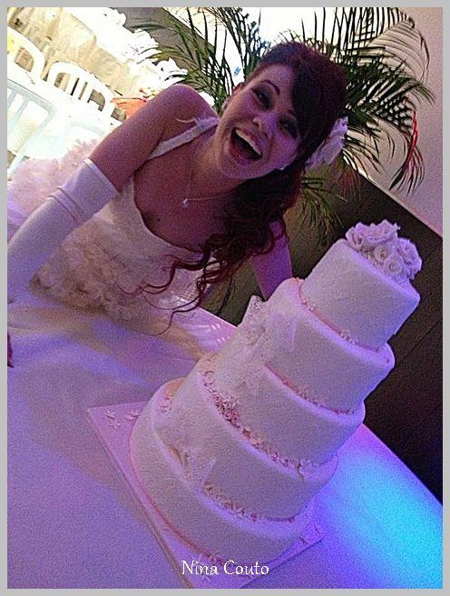 Gaëlle et son gâteau dentelles