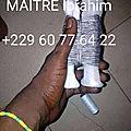 Retour de l'etre;par maitre ibrahim +229 60776422