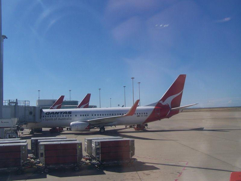 Départ de Brisbane