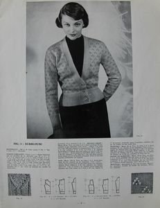 Tricot monde n° 212 - Années 1950 (9)