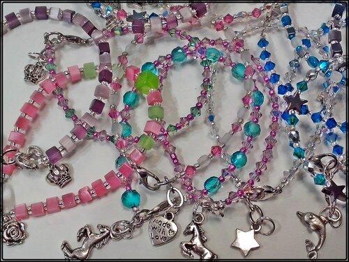 bracelets pièces uniques à 14 €