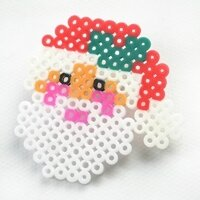 Christmas-Hama-Beads-Designs-on-How-to-Make-a-Santa-Claus-Ornament-7