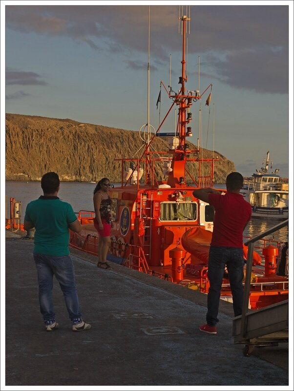 Tenerife cote port coucher soleil JF photographes rouge 220913