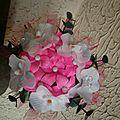mini bouquet pour bapteme