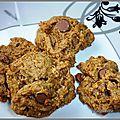Cookies a la farine d'épeautre
