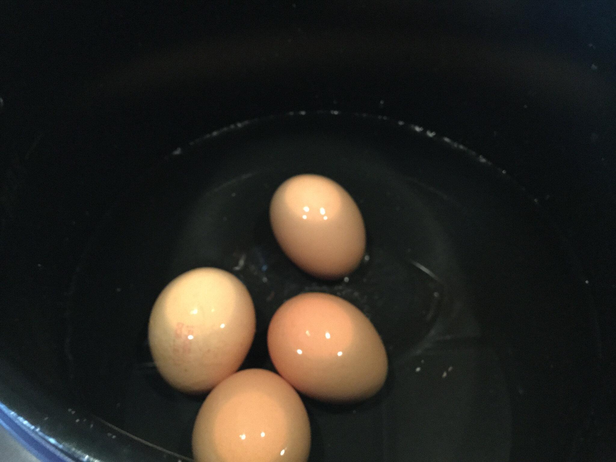 Cuisson des œufs au cookeo