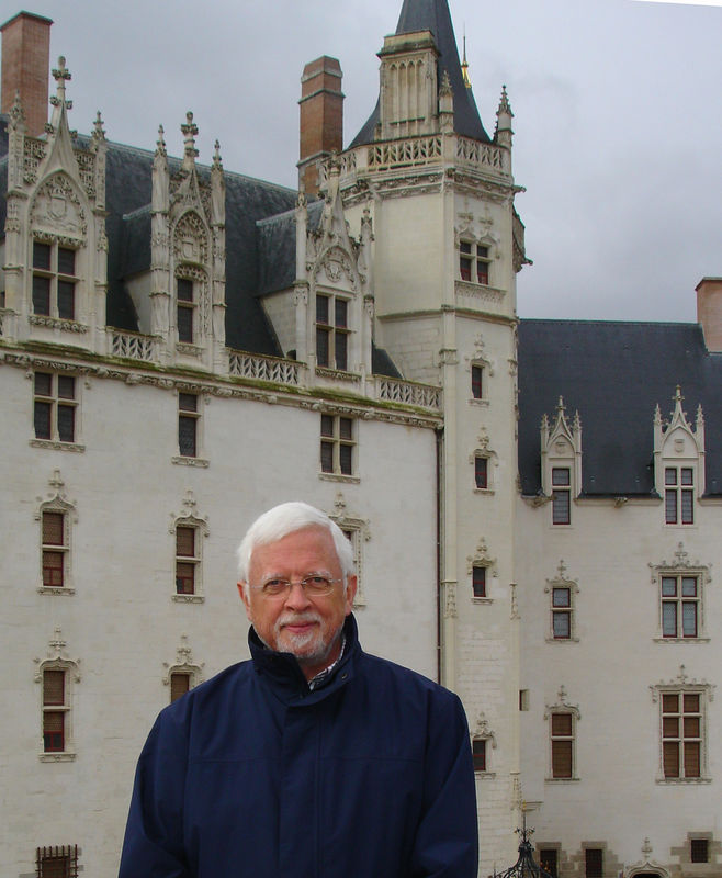 James Akré au chateau Nantes