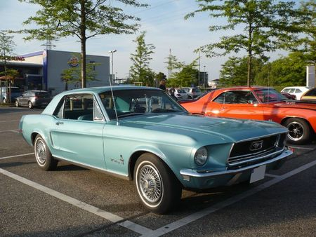 FORD Mustang 2door coupé Offenbourg (1)