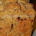 Pull apart bread au chorizo et tomate sechée / pull appart bread chorizo and dried tomatos
