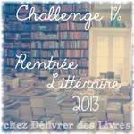 rentrée littéraire 2013