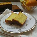 Cake citron et orange...