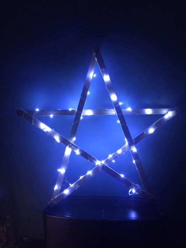 étoile illuminée