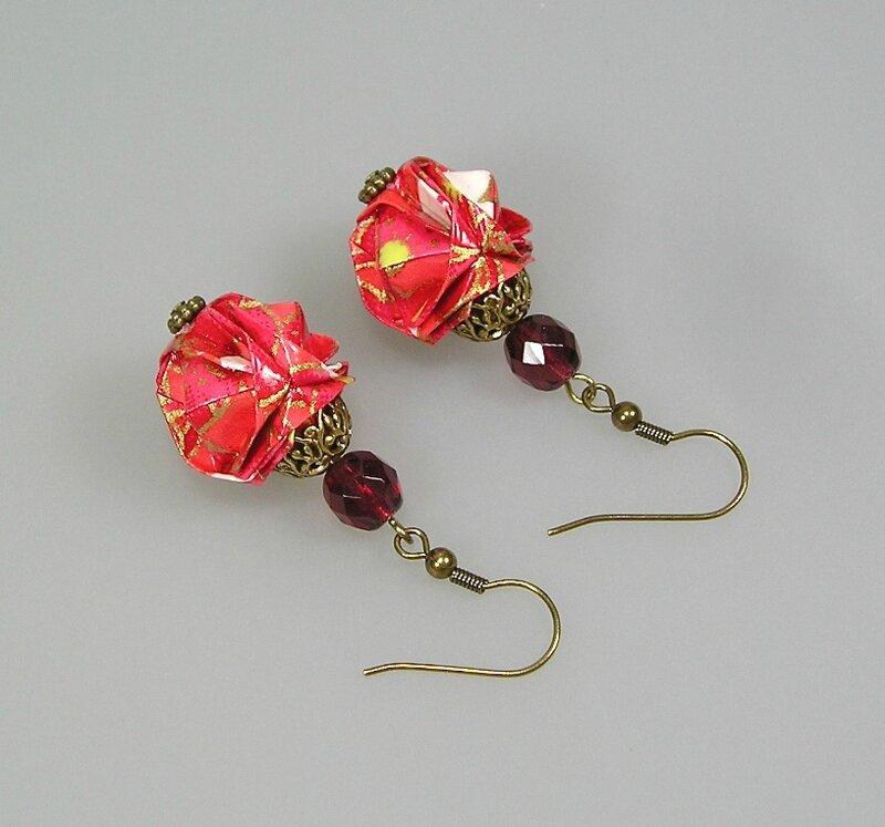 BO Boule rose corail V1