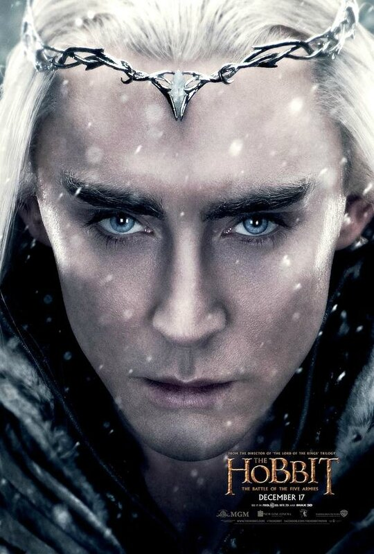 Thranduil The Hobbit The Battle of the five armies