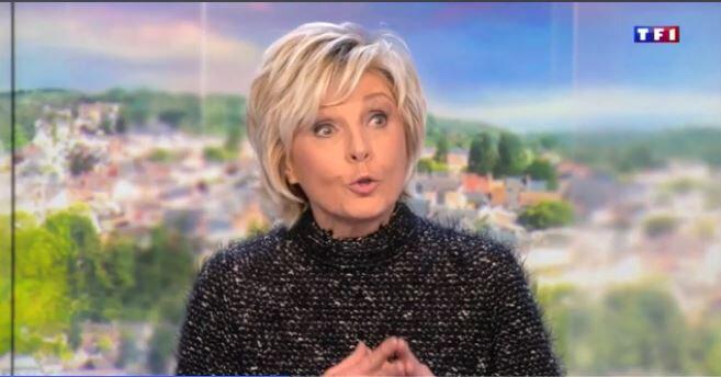 Evelyne Dhéliat 30000 Me 03 01 18 Vidéo TF1 JT 13H00
