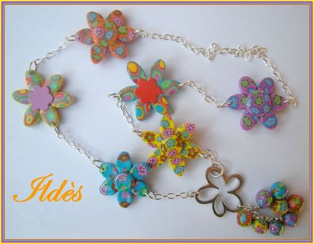 fimo collier hyppies 1
