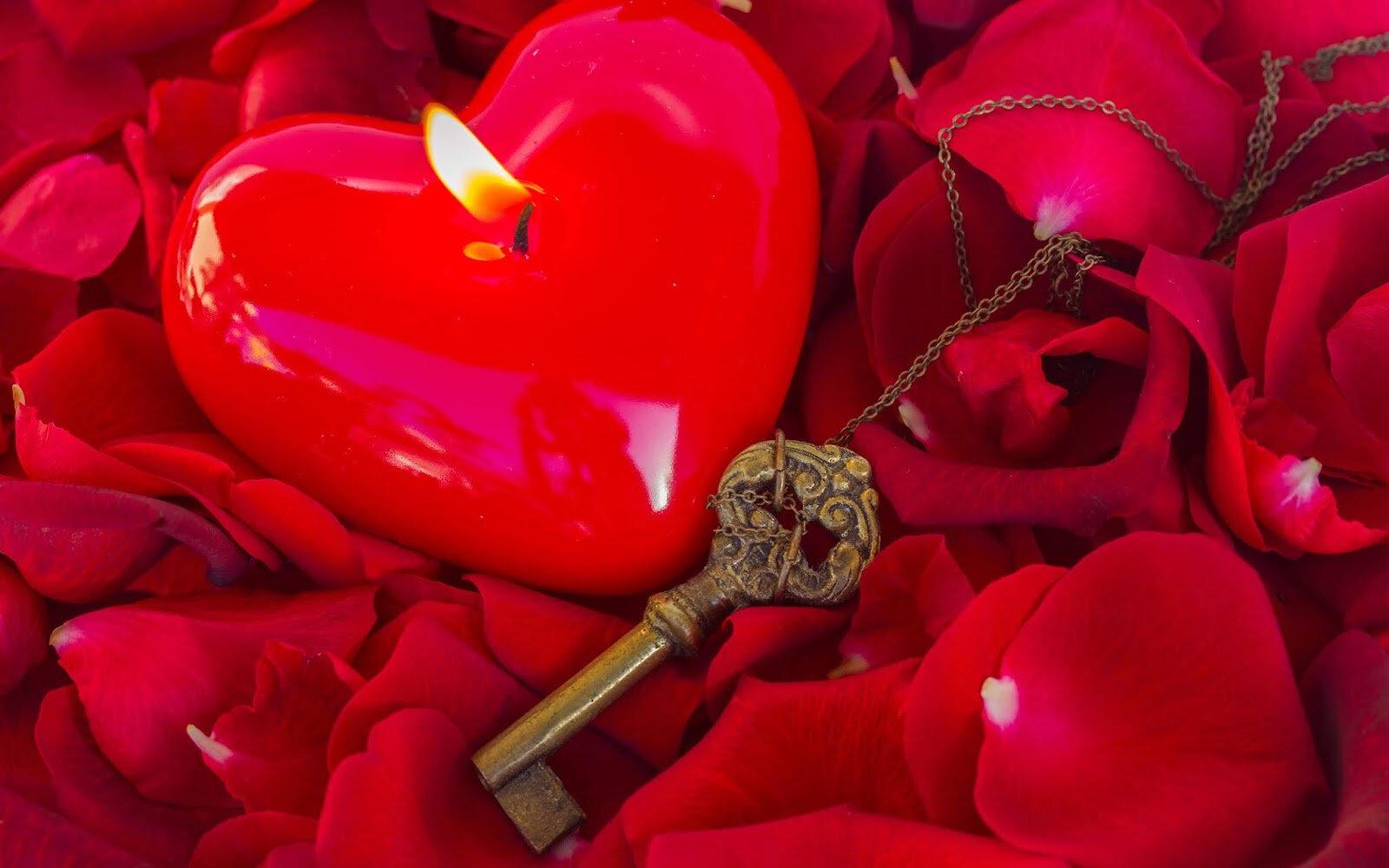 Magie Rouge d'Amour.