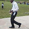 En plein pique-nique après ma récollection à Kiswihi (Katanga)