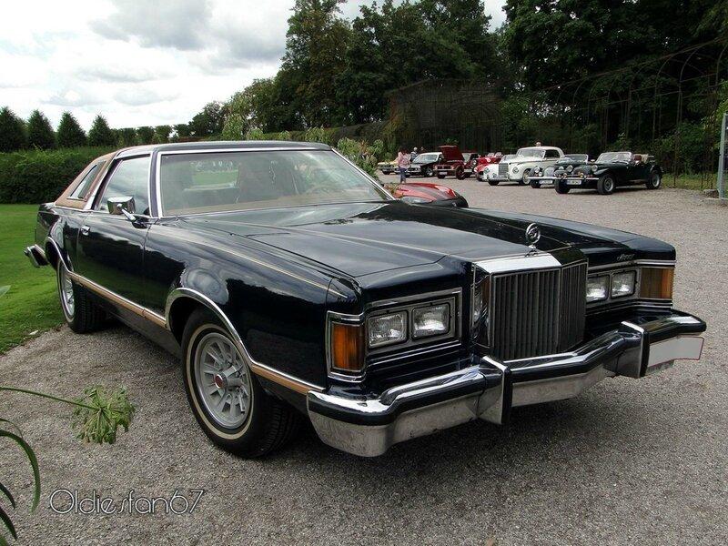 Mercury Cougar Xr 7 Hardtop Coupe 1977 224 1978