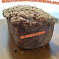 Cake croustillant aux poires râpées et aux spéculoos 122