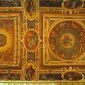 Chapelle de la Trinité (détail plafond)