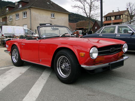 TRIUMPH TR6 Roadster 1969 1976 Bourse Echanges Autos Motos de Chatenois 2010 2