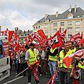 H b -Amiens manifestation pour la retraite