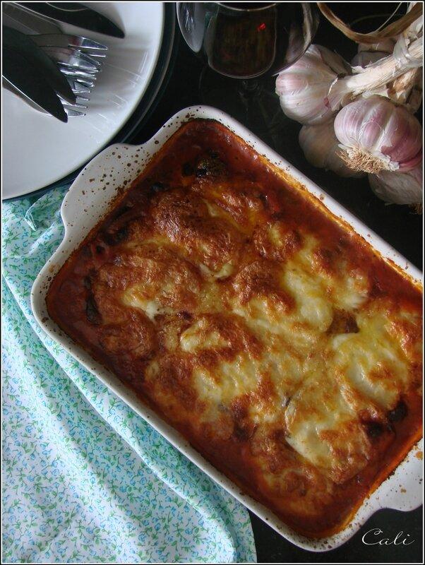 Aubergines & Courgettes à la Parmesane 002
