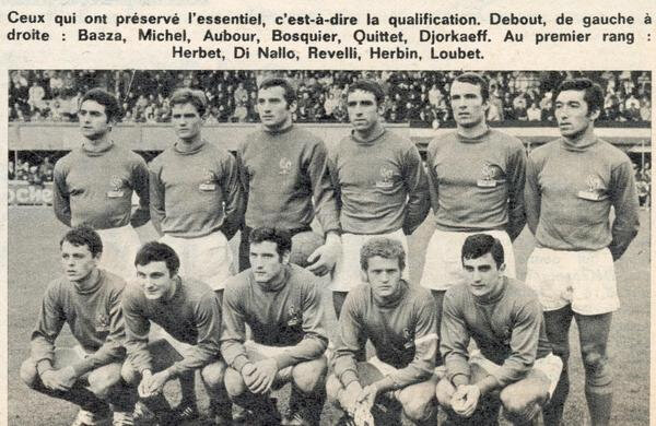 28 octobre 1967 FRANCE-BELGIQUE