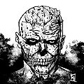 Skull - speed drawing