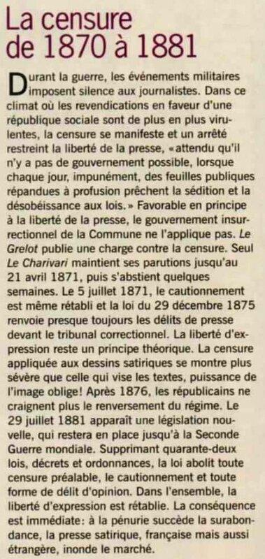 La censure 1880