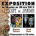 2013 : Vernissage d'avril