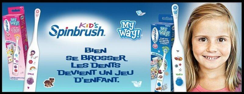 spinbrush kid's my way