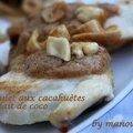 Poulet aux cacahuètes et lait de coco