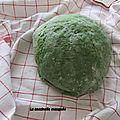 Cuisine: pâtes vertes aux épinards