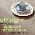 Craft night etsy ; speciale home decor