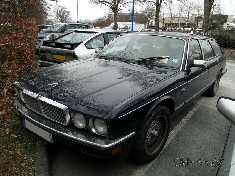 jaguar xj6 (xj40) estate hatfield 1989 a