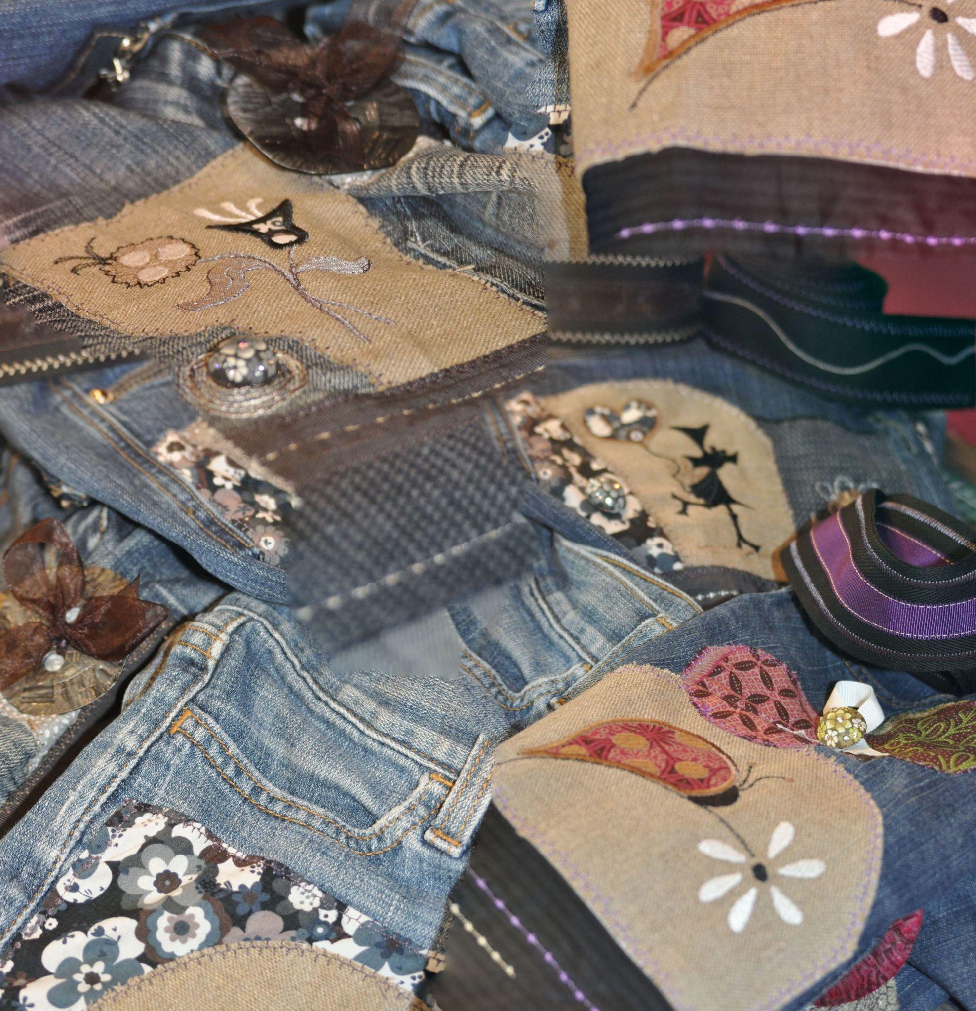 Sac jeans en cours de confection _ oct12