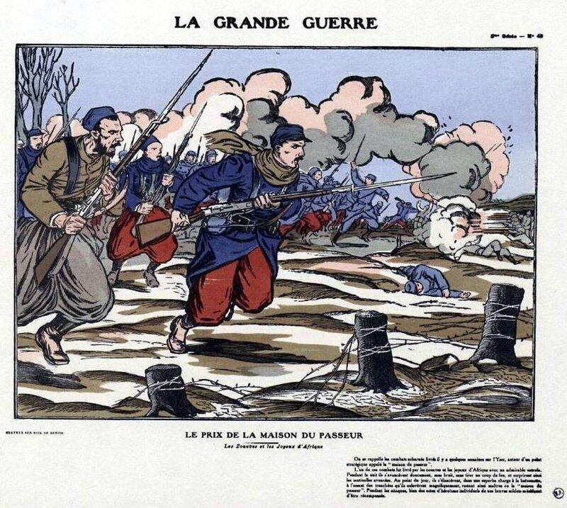 Grande guerre le prix de la maison du Passeur