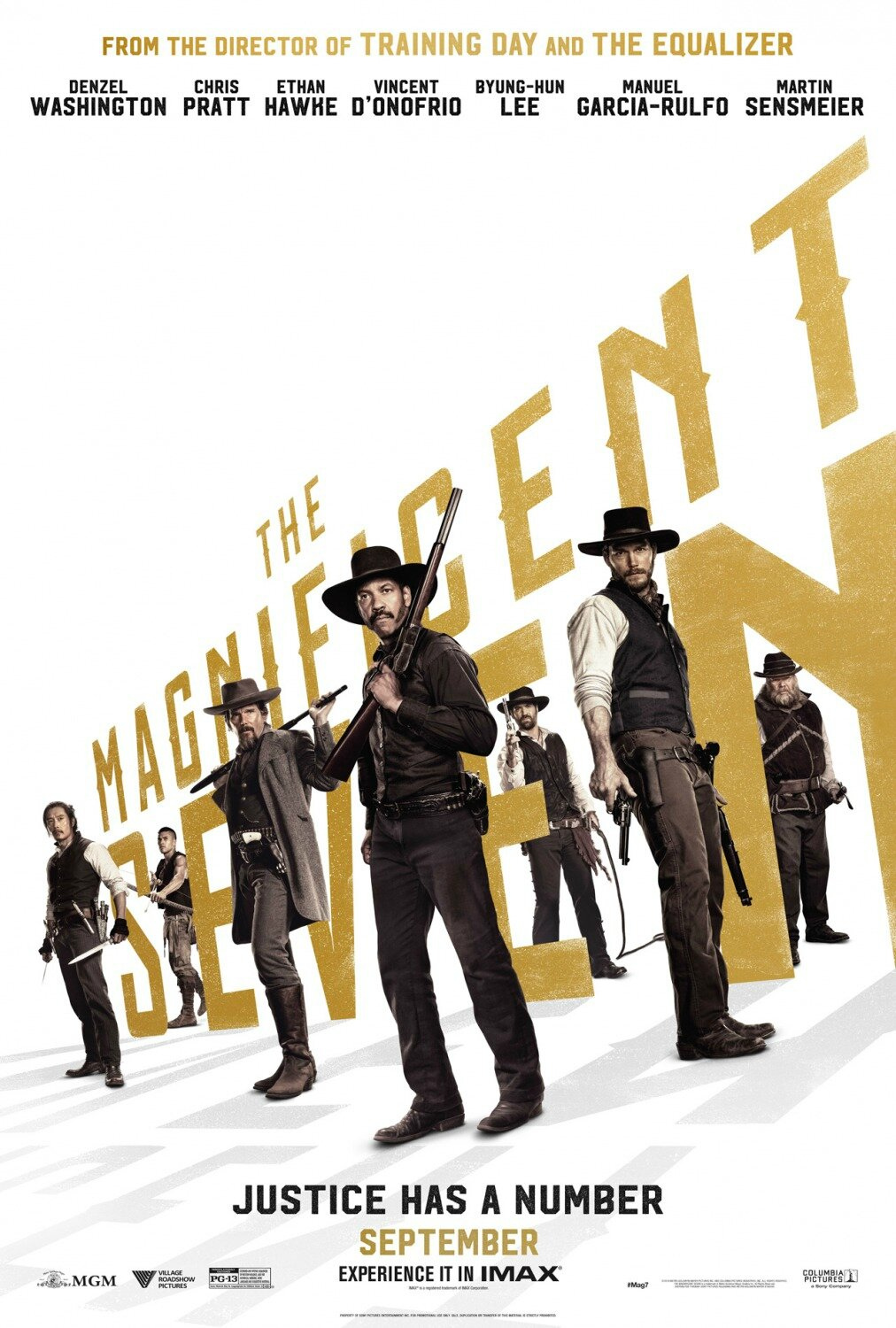 Les 7 mercenaires/The magnificent seven
